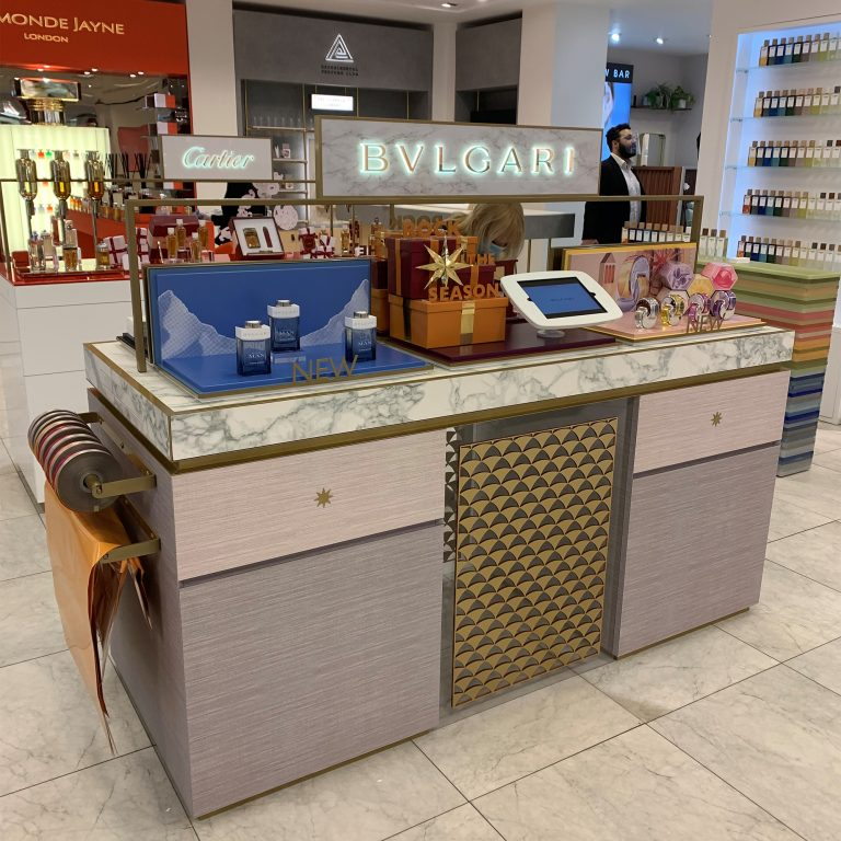 Selfridges Cartier & Bulgari Personalized Counters